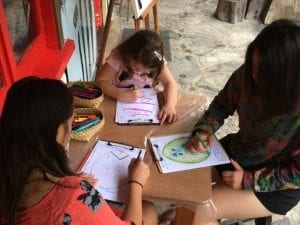 Easter Egg Drawing Activity
